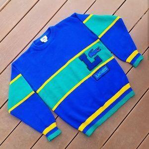 Vintage 80's Lacoste Sweater